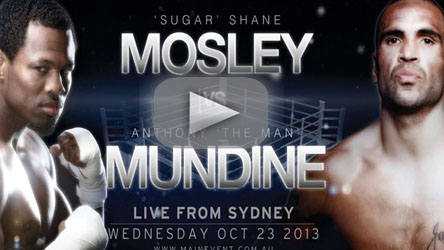 Shane Mosley vs Anthony Mundine